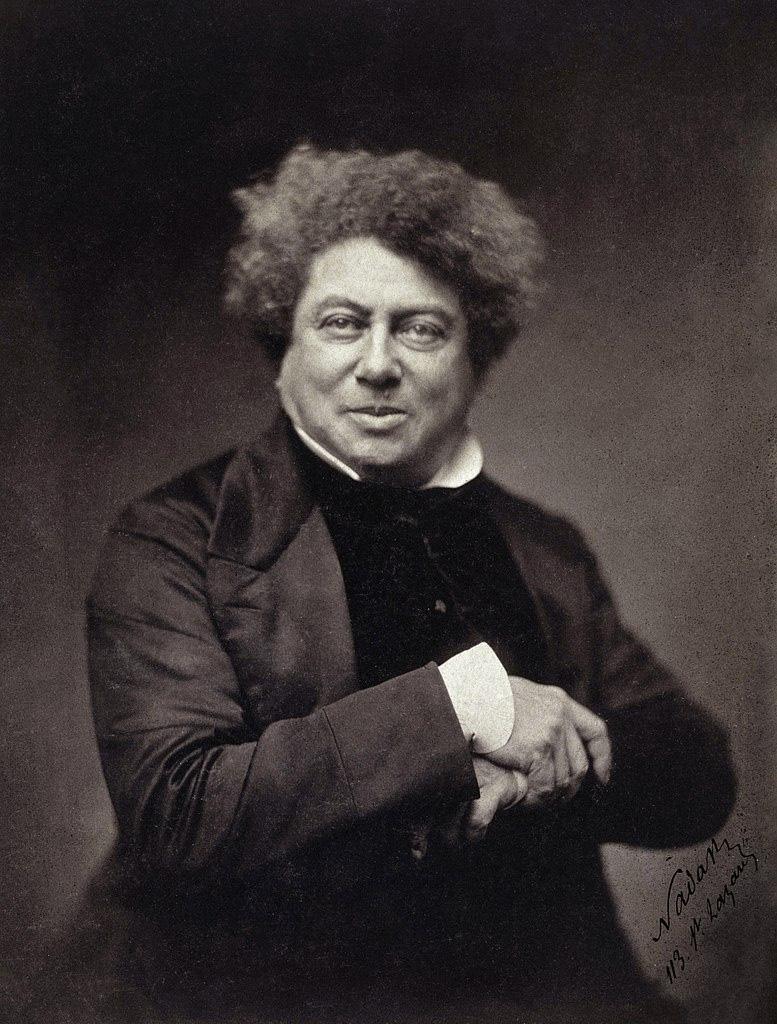 Artiste Peintre Yannick Le Quilleuc - Alexandre Dumas