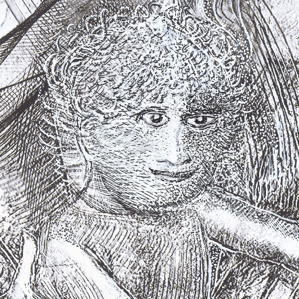 La Vierge et Mozart enfant - Les portraits - Artiste Peintre Yannick Le Quilleuc