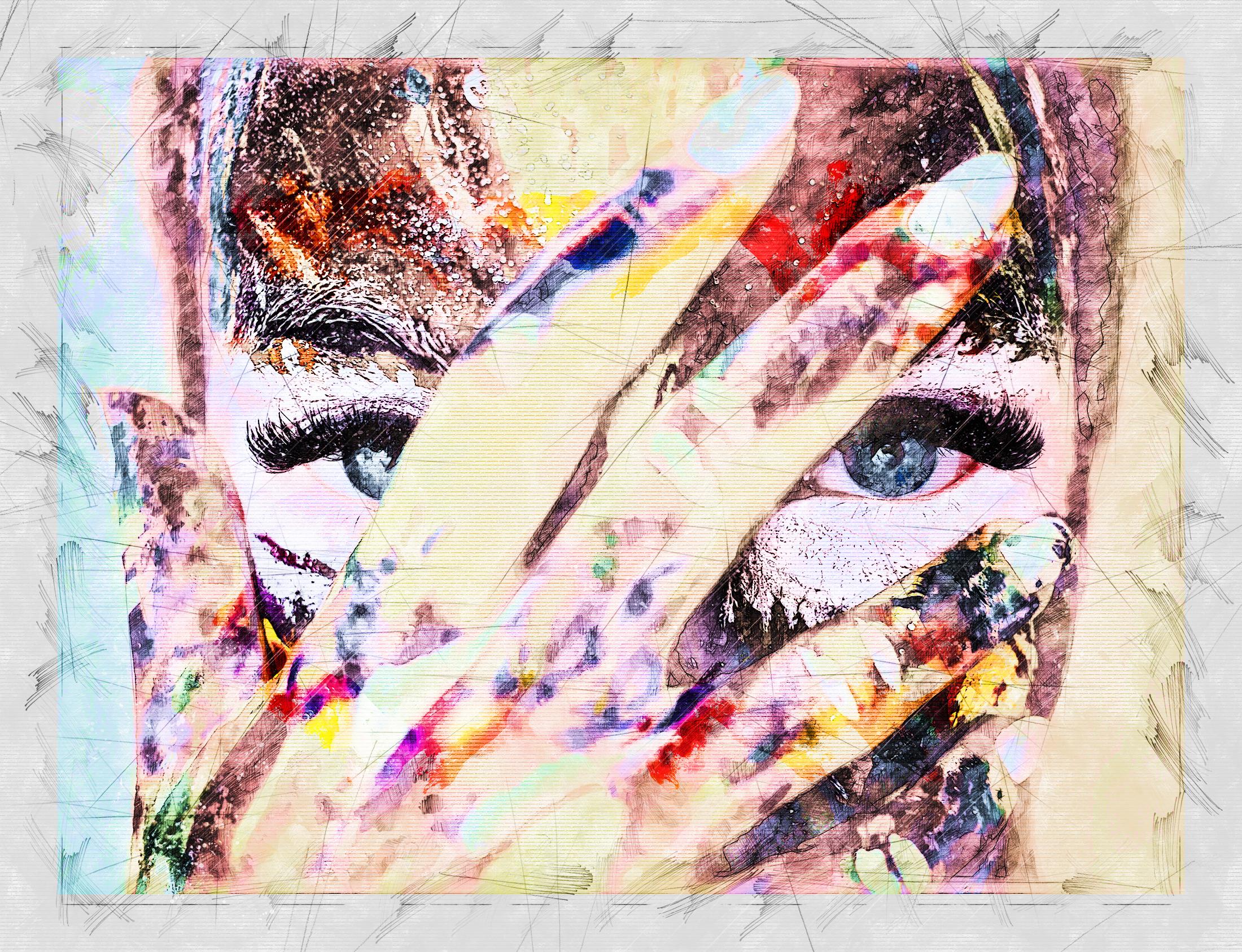 "Portraits - ""La Peintresse"""