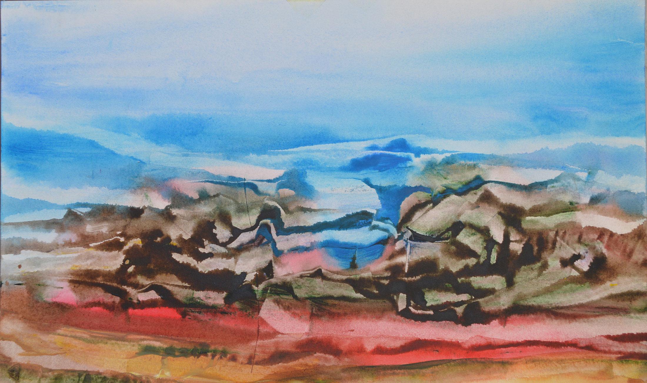 Yannick Le Quilleuc- Artiste Peintre - paysage-à-Pondaurat
